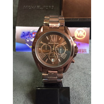 Relógio Michael Kors Mk5628 Brown Original Completo C/ Caixa