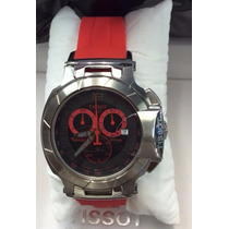 Relógio T-race Moto Tissot Gp Vermelho Original 12x S / J