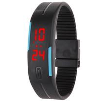Relógio De Pulso Digital Esportivo Ultrafino De Led