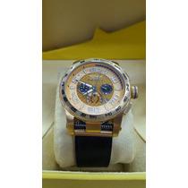 Lindo Relógio Invicta S1 15907 Pulseira Couro Promocional
