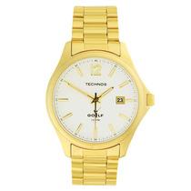 Relógio Technos 2315ft/4b Classico Golf Masculino Dourado