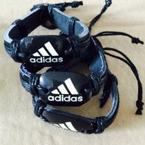Pulseiras De Couro Leg Unisex Esportivo De Luxo Adidas