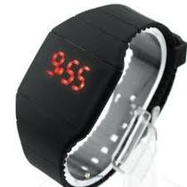 Relógio Led Digital Touch Screen Resistente Água