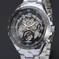 Relógio Automático De Luxo Russo - Funciona Sem Bateria