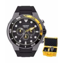 Relógio Orient Masculino Seatech Solar Mbttc014 P1gx