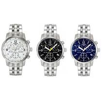 Relógio Tissot Prc200 Branco, Preto Ou Azul Na Caixa/manual.