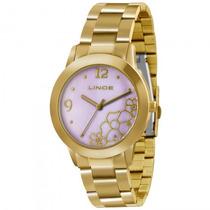 Relógio Lince Lrg4285l L2kx Feminino Dourado - Refinado