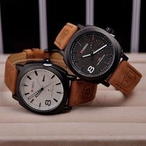 Relógio Barato Curren Luxuoso Mod.8139 Original