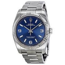 Relogio Rolex Oyster Perpetual Blue Arabic 116034blaso