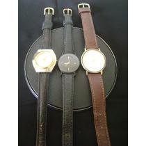 Lote De 03 Relógios De Pulso Feminino