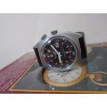 Relógio Sicura Breitling Submarino Militar Coleção Raro