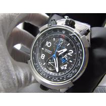 Relógio Orient Flytech Titanium Mbttc008 Quartz Cronógrafo