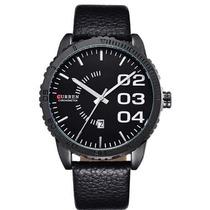 Relógio Curren Analógico 8125 Preto