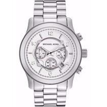 Relógio Michael Kors Mk8086 Prata Original Com Garantia