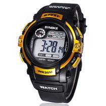 Relógio Sport Data Automática, Alarme À Prova D