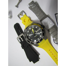 Relógio Orient Seatech Titanium Automático De Mergulho + Kit
