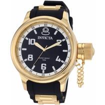 Relógio Invicta Russian 1436 - Preto Dourado Masculino