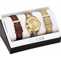 Relógio Guess Gold 3 Pulseiras W0239l2
