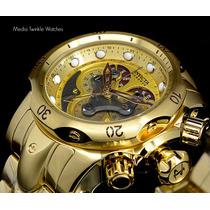 Lançamento Invicta 14462 Venom B.ouro 18k Original Completo