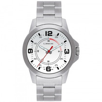 Relógio Lince Mrm4039s B2sx Masculino Prata - Refinado