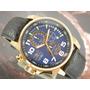 I N V I C T A Relógio Invicta Cronografo Plaque Ouro 13055