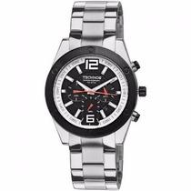 Relógio Technos Skymaster Os20dk/1p Prata Pulseira Aço Nfe