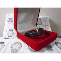 Relógio Cartier Feminino Folhado Ouro 18 K 15 Rubis Original