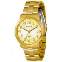 Relógio Lince Lrgl004l C2kx Feminino Dourado - Refinado