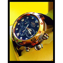 Relógio Invicta Collection Speedway Gold 18k/grande.