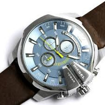 Relógio Diesel Dz4281 (masculino) Mega Chief Chronograph | M