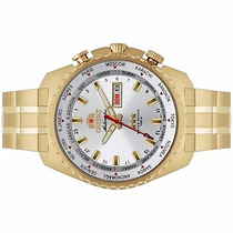 Relógio Automático Orient Dourado 469gp057 S1kx 21 Rubis