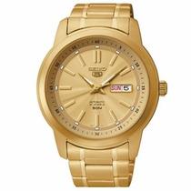 Relógio Seiko 5 Automático 21jewels Snkm94b1 C1kx - Original