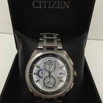 Relógio De Pulso Citizen Ecodrive Super Titanium Chronograph