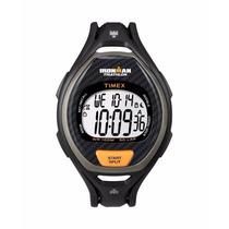 Relógio Timex T5k335wkl/tn Ironman Triathlon 50 Lap 10 Atm