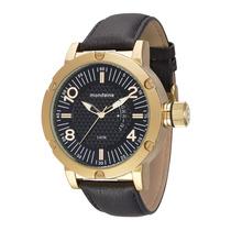 Relógio Mondaine Masculino Grande Pul. Couro 76479gpmvdh1 G