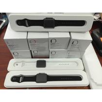 Relogio Apple Iwatc 42mm Aluminio Preto Novo Caixa P.entrega