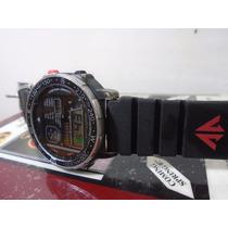 Relógio Citizen Windsurf D060 085491 Black Coleção Anos 80