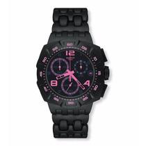 Relógio Swatch Black Dunes Pink Suib410