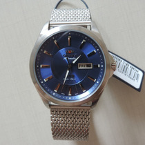 Relógio Orient Automático 469ss056 Masculino Visor Azul Belo
