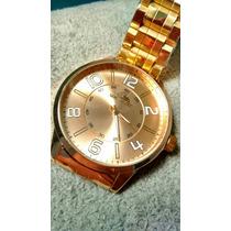 Relógio Quiksilver Dourado Frete Barato