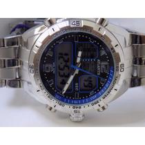 Relogio Atlantis 3225 Original Novo Azul Frete Gratis!!!