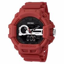 Relógio Mormaii Anadigi Moad1105a/8r - Garantia E Nf