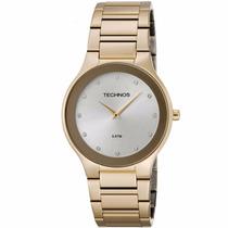 Relógio Technos Feminino Classic Slim 1l22en/4k Original