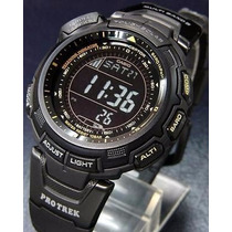 Casio Protrek Prg110y - Prg-110y All Black