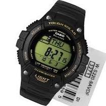 Relógio Casio W-s220 Solar Resina Ouro 5alar 31fuso Ws200 Aq