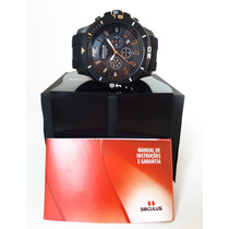 Presente De Natal Relogio Seculus Chronograph 60672gpsvpu1