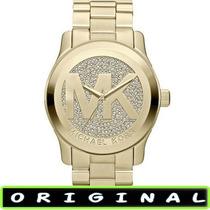 Relógio Michael Kors Mk5706 Gold 47mm Oversized Lançamento !