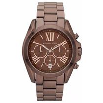 Relógio Michael Kors Mk5628 Chocolate Original Com Garantia