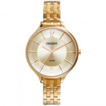 Relógio Orient Fgss0041 C2kx Feminino Dourado - Refinado