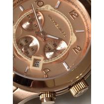Relógio Pulso Michael Kors- Mk8096 Rose - Original Importado